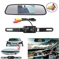 "Backup Camera and Monitor Kit,Chuanganzhuo 4.3"" Car Vehicle"