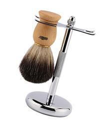 Estilo Pure Badger Hair Shaving Brush with Beech Wooden