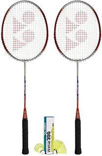 Yonex Badminton Combo Set 2-B350 and 1-Mavis 300 Yellow