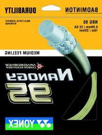 Yonex Badminton String Nanogy_95 Medium Feeling