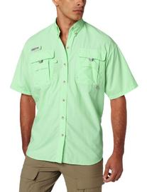 Columbia Men's Bahama II Short Sleeve Shirt, Key West, X-
