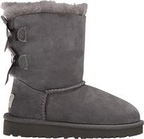 UGG Australia Girls Bailey Bow Boot Grey Size 7 M US Toddler