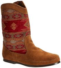 Minnetonka Baja Boot - Women's Dusty Brown Suede, 10.0