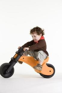 YBIKE Balance Bike - Orange - The Toddler Walking Bike