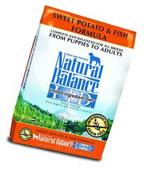 Natural Balance L.I.D. Limited Ingredient Diets Sweet Potato