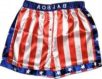 Rocky Balboa Apollo Movie Boxing American Flag Shorts