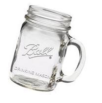 Ball Single Drinking Mug Canning Jar -2 Cases