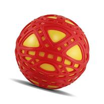 "E-Z Grip 6.25"" Grip Ball Toy, Red/Yellow"