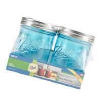 Ball  Wide Mouth Canning Jars 4/Pkg-Pint - Elite Color
