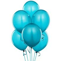 12 Inch Latex Balloons Turquoise  Pkg/100