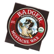 Badger Balm - Mustache Wax - Navigator Class Man Care - .75