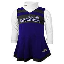 NFL Baltimore Ravens Girls Cheer Jumper Dress with