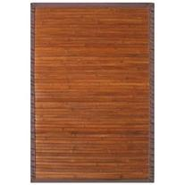 Bamboo Area Rug in Contemporary Chocolate