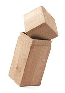 Bamboo Tea Canister