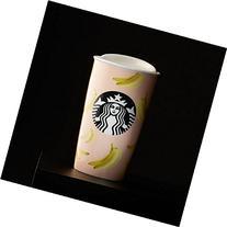 Starbucks Bananas Dot Double Wall Traveler, 12 Fl Oz