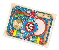 Melissa & Doug Band-in-a-Box Clap! Clang! Tap! - 10-Piece
