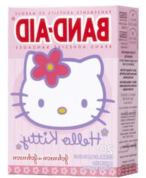 Band-Aid Brand Adehesive Bandages Hello Kitty, Assorted 20