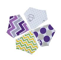 Bandana Bib for Drooling Babies, Ultra Soft, Super Absorbent