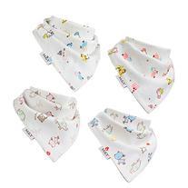 Baby Bandana Drool Bibs | 100% Organic Cotton | Extremely