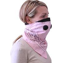 Bandana Style Dust Mask Pnk
