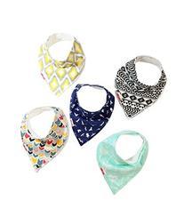 Danha Baby Bandana Teething Bib for infants and toddlers .