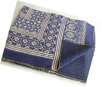 Tribal Asian Textiles Banjara Handmade Kantha Quilt Throw