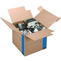 Bankers Box SmoothMove Prime Moving Boxes, Tape-Free and