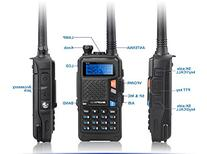 4 Pcs BAOFENG UV-5X Two-Way Radio with FM Function VHF 136-