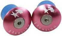 Fyxation Bar End Anodized Plugs, Pink