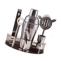Bar Tool Set 100% Stainless Steel Bartender Martini Shaker