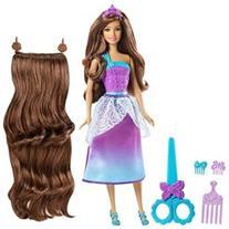 Barbie Endless Hair Kingdom Longest Locks Doll - Pink