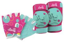 Bell Barbie My Fab Bike Pads/Gloves
