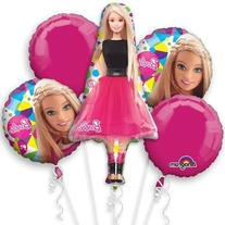 Barbie Sparkle Bouquet Of Balloons