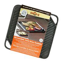 Mr.BarBQ 08102X Reversible Griddle, Cast Iron