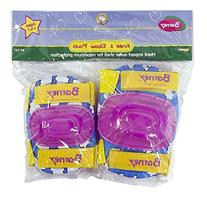 Barney Knee and Elbow Pads Protective Gear for Kids