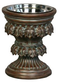Unleashed Life Baroque Collection Old World Raised Feeder,