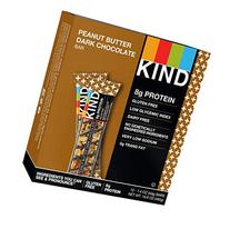 KIND Bars, Peanut Butter Dark Chocolate + Protein, Gluten