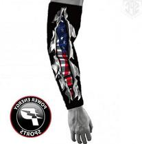 Baseball Sports Compression Arm Sleeve -  Live and Die