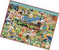 White Mountain Puzzles Baseball History - 1000 Piece Jigsaw