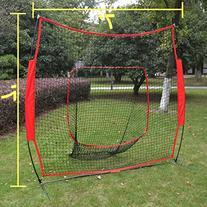 Strong Camel Baseball/Softball 7'x7' Net Cages sport play
