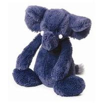 Bashful Elephant Blue Medium 12 by Jellycat