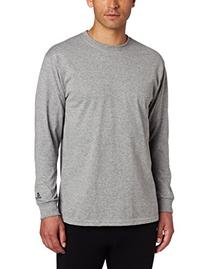 Russell Athletic Men's Basic Cotton Long Sleeve Tee, Oxford