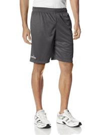 Spalding Men's Basic Mesh Short, Concrete, Medium
