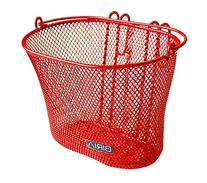 Biria Basket with Hooks RED, Front, Removable, Wire mesh