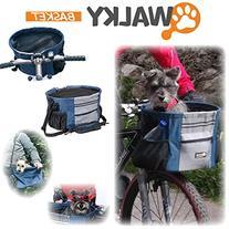 Walky Basket Pet Dog Bike Basket & Carrier Click Release up