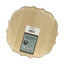 "Basswood Medallion Plaque-11""X11""X.75"