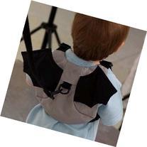 Bat Style Kid Child Boy Toddler Safety Harness Backpack Bag