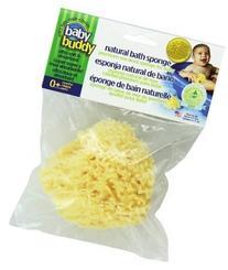 Baby Buddy's Natural Baby Bath Sponge, Premium Sea Wool