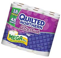 Quilted Northern Ultra Plush Mega Roll Bath Tissue, 18 Count
