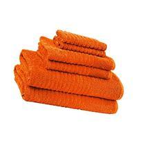 6 Piece Bath Towel Set 100% Ring Spun Soft & Absorbent